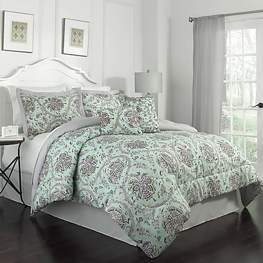 Traditions by Waverly Happy Festival Polyester 6 Piece Comforter Set; Queen