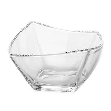 ClassicTouch Square Salad Bowl