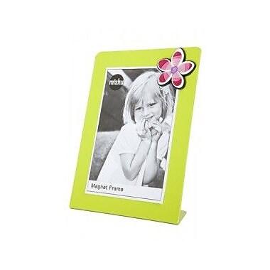 Mishu Designs Magnet Picture Frame; Lime Green