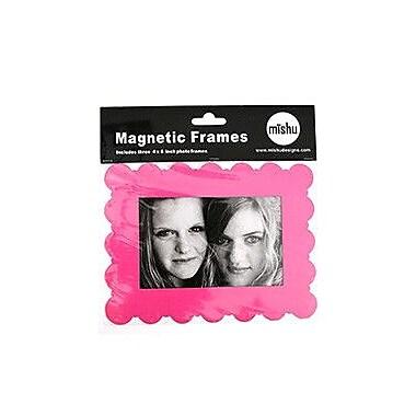 Mishu Designs Magnetic Frame (Set of 3); Hot Pink