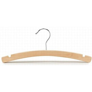 Only Hangers Inc. Children's Wooden Top Nursery Hanger (Set of 25); Natural