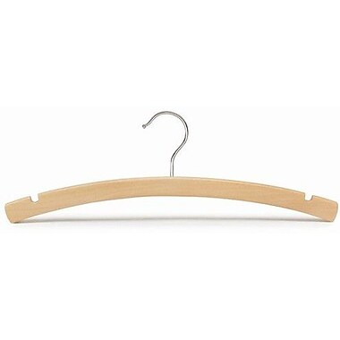 Only Hangers Inc. Wooden Top Nursery Hanger (Set of 50); Natural