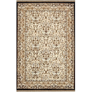 American Home Rug Co. American Home Classic Sivas Taupe/Black Area Rug; Runner 2'6'' x 10'