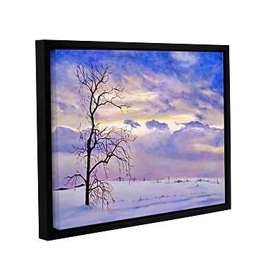 ArtWall Solitude by Marina Petro Framed Painting Print on Wrapped Canvas; 36'' H x 48'' W