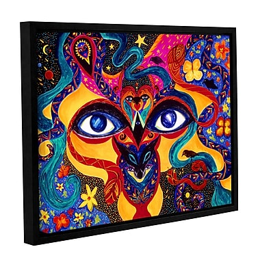 ArtWall All Seeing by Marina Petro Framed Painting Print on Wrapped Canvas; 36'' H x 48'' W