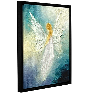 ArtWall Angel by Marina Petro Framed Painting Print on Wrapped Canvas; 24'' H x 32'' W