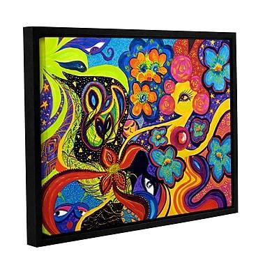 ArtWall Joyful by Marina Petro Framed Painting Print on Wrapped Canvas; 24'' H x 32'' W