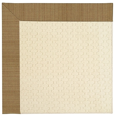 Capel Zoe Light Beige Indoor/Outdoor Area Rug; Rectangle 9' x 12'