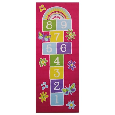 Fun Rugs Fun Time Garden Hopscotch Area Rug; 2'6'' x 6'6''