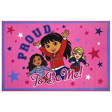 Fun Rugs Dora Proud To Be Me Area Rug; 1'7'' x 2'5''
