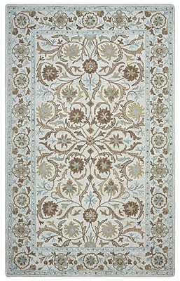 Rizzy Home Ashlyn Collection New Zealand Wool Blend 2' x 3' Blue (ASHAL257300040203)