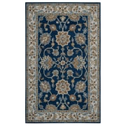 Rizzy Home Ashlyn Collection New Zealand Wool Blend 9'x12' Blue (ASHAL282357370912)