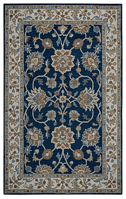Rizzy Home Ashlyn Collection New Zealand Wool Blend 2' x 3' Blue (ASHAL282357370203)