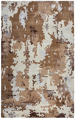 Rizzy Home Avant-Garde Collection New Zealand Wool Blend with Viscose Accents 3'6