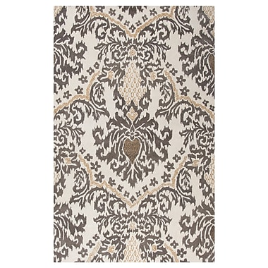 Rizzy Home Destiny Collection 100% Hard-Twist Wool 3' x 5' Taupe/Tan (DSTDT507000040305)