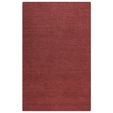 Rizzy Home Ellington Collection Jute/Wool 8'x10' Red (ELGEG9031RE000810)