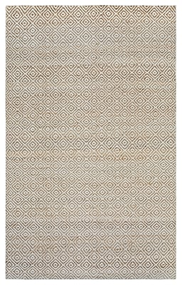 Rizzy Home Ellington Collection Jute/Wool 5'x8' Natural (ELGEG9034NT000508)