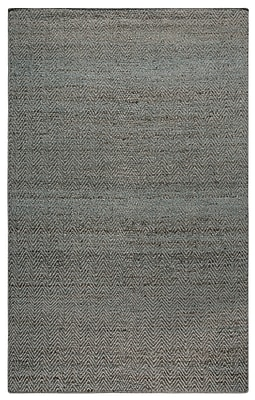 Rizzy Home Ellington Collection Jute/Wool 3' x 5' Blue (ELGEG9036BL000305)