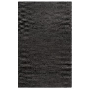 Rizzy Home Ellington  Collection  Jute/Wool  3' x 5' Black (ELGEG9038BK000305)