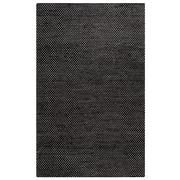 Rizzy Home Ellington  Collection  Jute/Wool  3' x 5' Black (ELGEG9038BK000305)