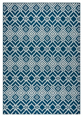 Rizzy Home Glendale Collection 100% Polypropylene 3'3