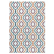 "Rizzy Home Glendale Collection 100% Polypropylene 3'3"" x 5'3"" Multi-Colored (GLDGD594700373353)"