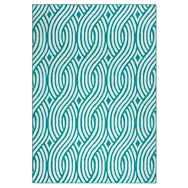 Rizzy Home Glendale Collection 100% Polypropylene 5'3