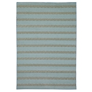 "Rizzy Home Glendale Collection 100% Polypropylene 3'3"" x 5'3"" Blue/Aqua (GLDGD7003AA003353)"