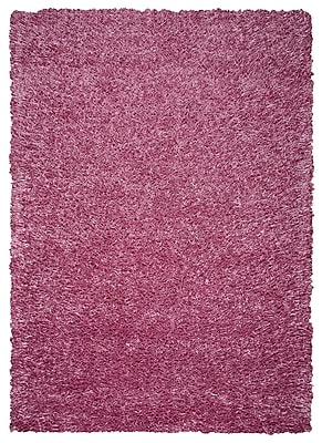 Rizzy Home Kempton Collection 100% Polyester 8'x10' Pink (KNMKM150700650810)