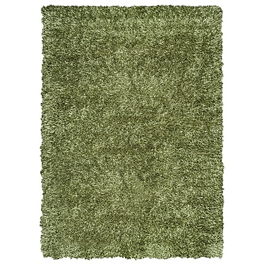 Rizzy Home Kempton Collection 100% Polyester 9'x12' Green (KNMKM150800480912)
