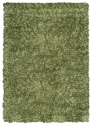 Rizzy Home Kempton Collection 100% Polyester 6' x 9' Green (KNMKM150800480609)