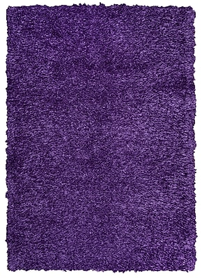 Rizzy Home Kempton Collection 100% Polyester 5' x 7' Purple (KNMKM150900660507)
