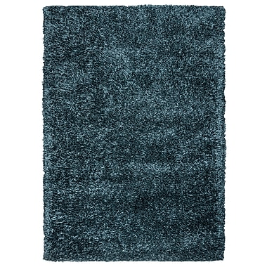 Rizzy Home Kempton Collection 100% Polyester 9'x12' Gray Blue (KNMKM155800820912)