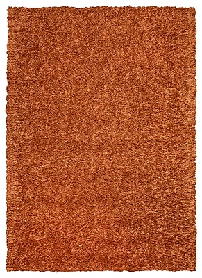 Rizzy Home Kempton Collection 100% Polyester 6' x 9' Orange (KNMKM230900600609)