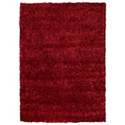 "Rizzy Home Kempton Collection 100% Polyester 3'6""x 5'6"" Red (KNMKM231000493656)"