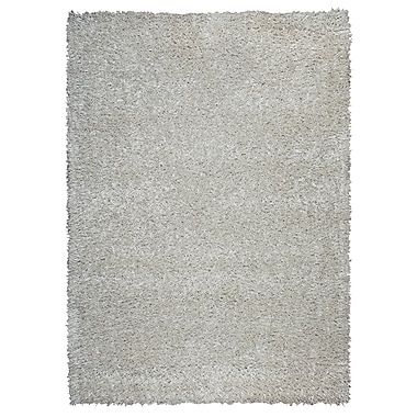 Rizzy Home Kempton Collection 100% Polyester 9'x12' White (KNMKM231400370912)