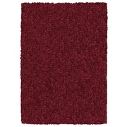 Rizzy Home Kempton Collection 100% Polyester 8'x10' Burgundy/Merlot (KNMKM232000140810)