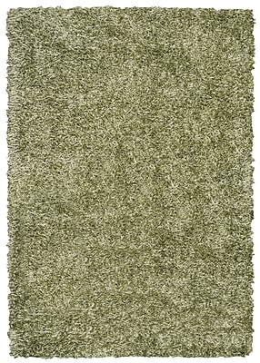 Rizzy Home Kempton Collection 100% Polyester 6' x 9' Sage (KNMKM232100770609)