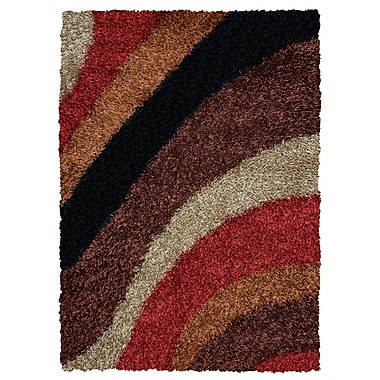 Rizzy Home Kempton Collection 100% Polyester 6' x 9' Multi-Colored (KNMKM232200540609)