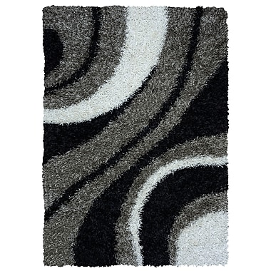Rizzy Home Kempton Collection 100% Polyester 8'x10' Multi-Colored (KNMKM232300330810)