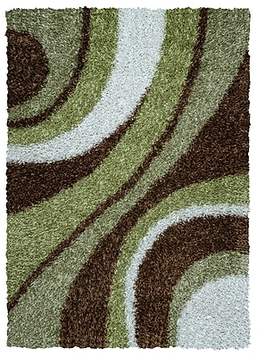 Rizzy Home Kempton Collection 100% Polyester 5' x 7' Multi-Colored (KNMKM232400300507)