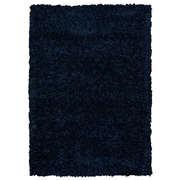 Rizzy Home Kempton Collection 100% Polyester 5' x 7' Dark Blue (KNMKM244300090507)