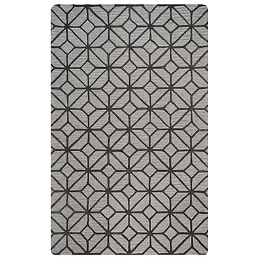 Rizzy Home Lunicca Collection 100% Wool 5'x8' Gray (LUNLI948600330508)