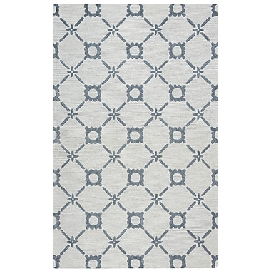 Rizzy Home Lunicca Collection 100% Wool 8'x10' Gray (LUNLI951500330810)