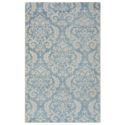 Rizzy Home Maison Collection Hand-Spun New Zealand Wool 9'x12' Blue/Aqua (MSNMS866533370912)