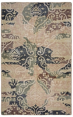 Rizzy Home Maison Collection Hand-Spun New Zealand Wool 5'x8' Multi-Colored (MSNMS866600120508)