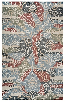 Rizzy Home Maison Collection Hand-Spun New Zealand Wool 2' x 3' Multi-Colored (MSNMS8668PUMU0203)