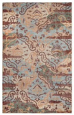Rizzy Home Maison Collection Hand-Spun New Zealand Wool 2' x 3' Multi-Colored (MSNMS866900700203)