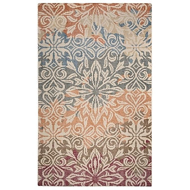 Rizzy Home Maison Collection Hand-Spun New Zealand Wool 5'x8' Multi-Colored (MSNMS867000040508)
