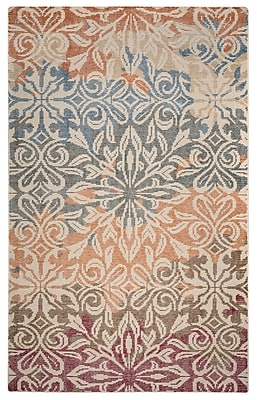 Rizzy Home Maison Collection Hand-Spun New Zealand Wool 2' x 3' Multi-Colored (MSNMS867000040203)